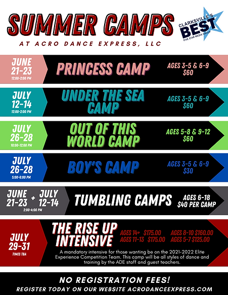 ADE Summer Camps