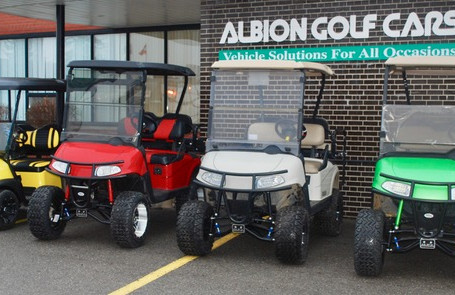 The Masters of Custom Carts – AlbionGolfCars.com