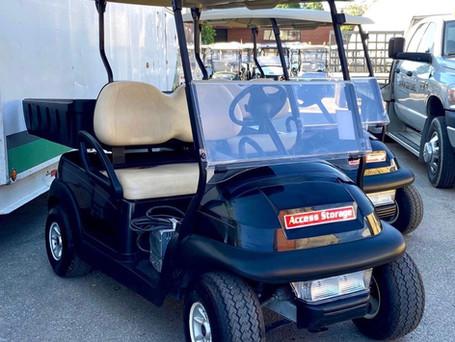 Self-Storage Facilities and Golf Carts