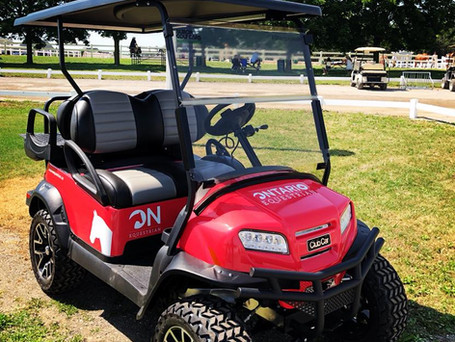 Albion Golf Cars Enters Into Partnership with Ontario Equestrian