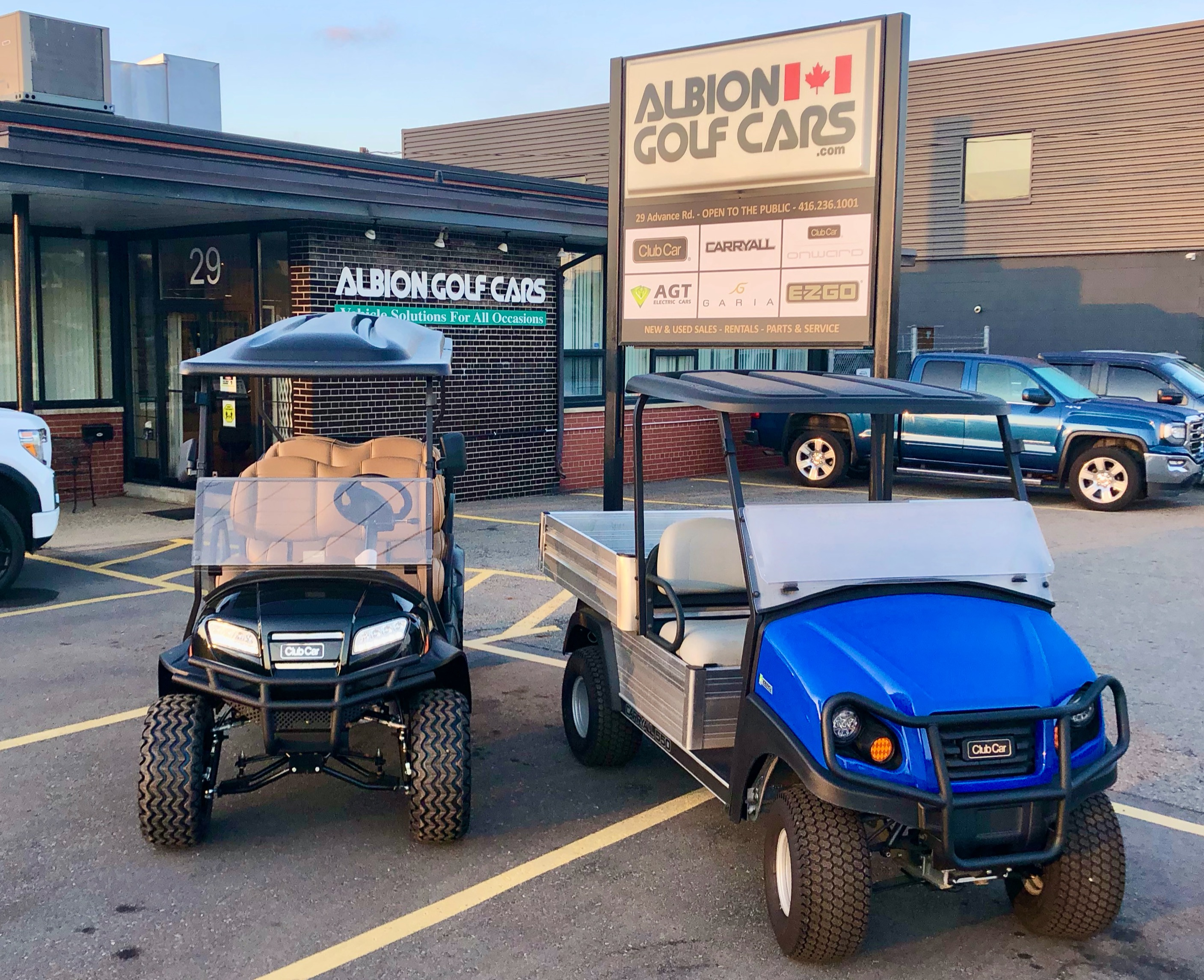 ALBION GOLF CARS