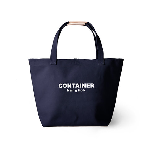 Summer Canvas Tote Navy Blue (water resistant)