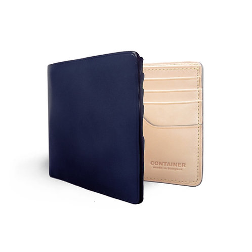 Wallet Bifold Navy Blue