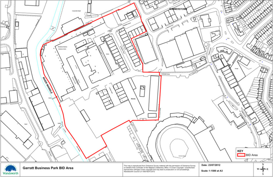 Garratt Business Park BID Area