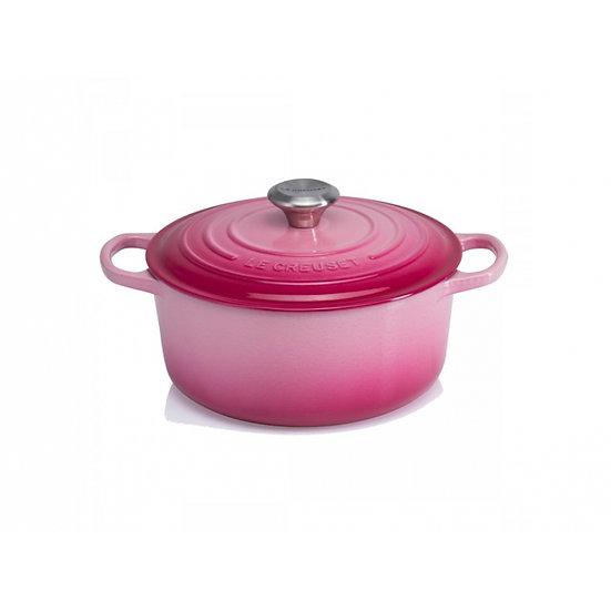 Le Creuset瑰麗野莓粉紅特別版鑄鐵鍋具系列 20 cm