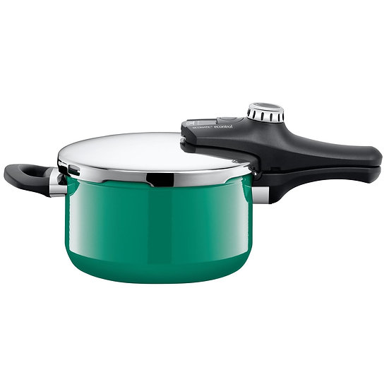 Silit 高壓鍋 Sicomatic® econtrol 4.5L 海洋綠