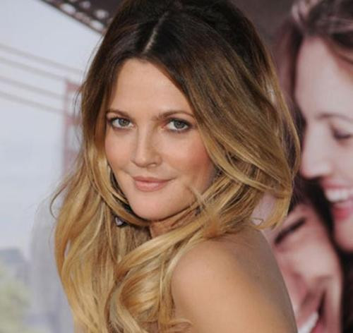 Ombre Haircolor with Drew Barrymore
