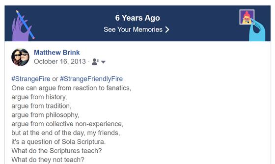 Strange Fire Response
