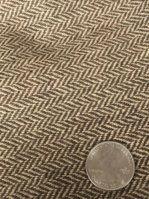 Herringbone Brown Ecrue 1911-001 LM