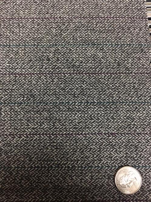Herringbone Stripe Gray 639-66