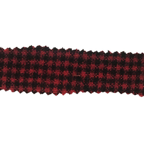 Houndstooth Red/Black 675-200 Fabric