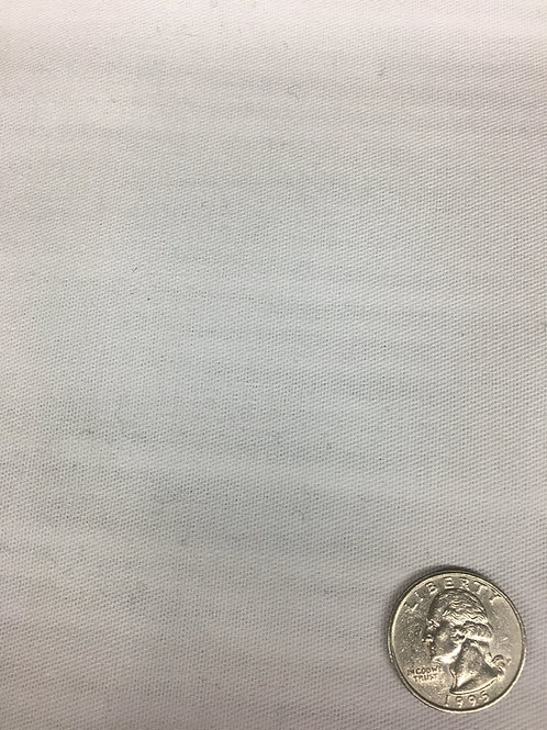 White Poly Cotton Twill 53
