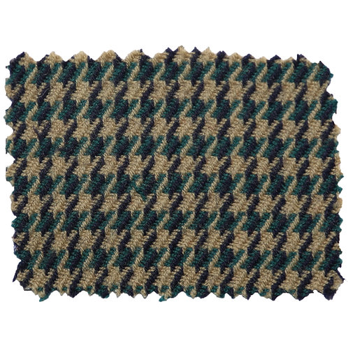 Tan and Hunter and Navy Houndstooth 9101 20 10