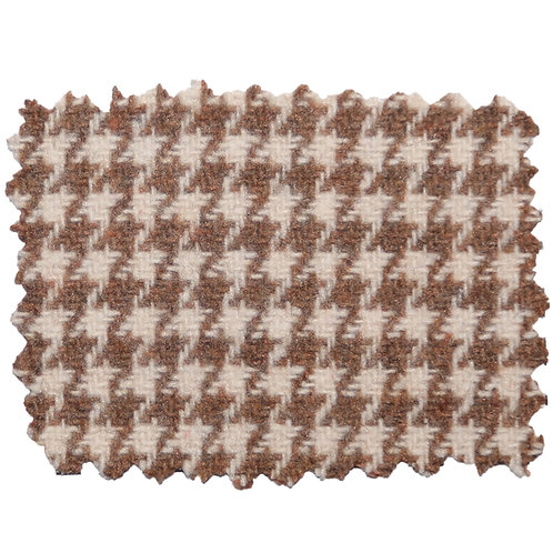 Tan and White Houndstooth 93308