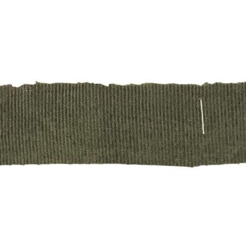 Corduroy Olive Pin Wale 27