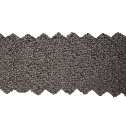 Gray Solid All Wool Flannel Fabric 1314-04