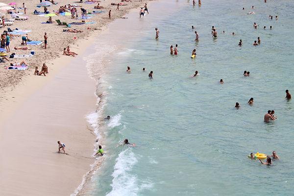 Cala Tarida beach, Ibiza