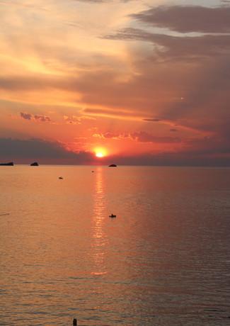 Beautiful Ibiza sunset