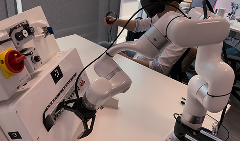 Robotic arm remotely operated