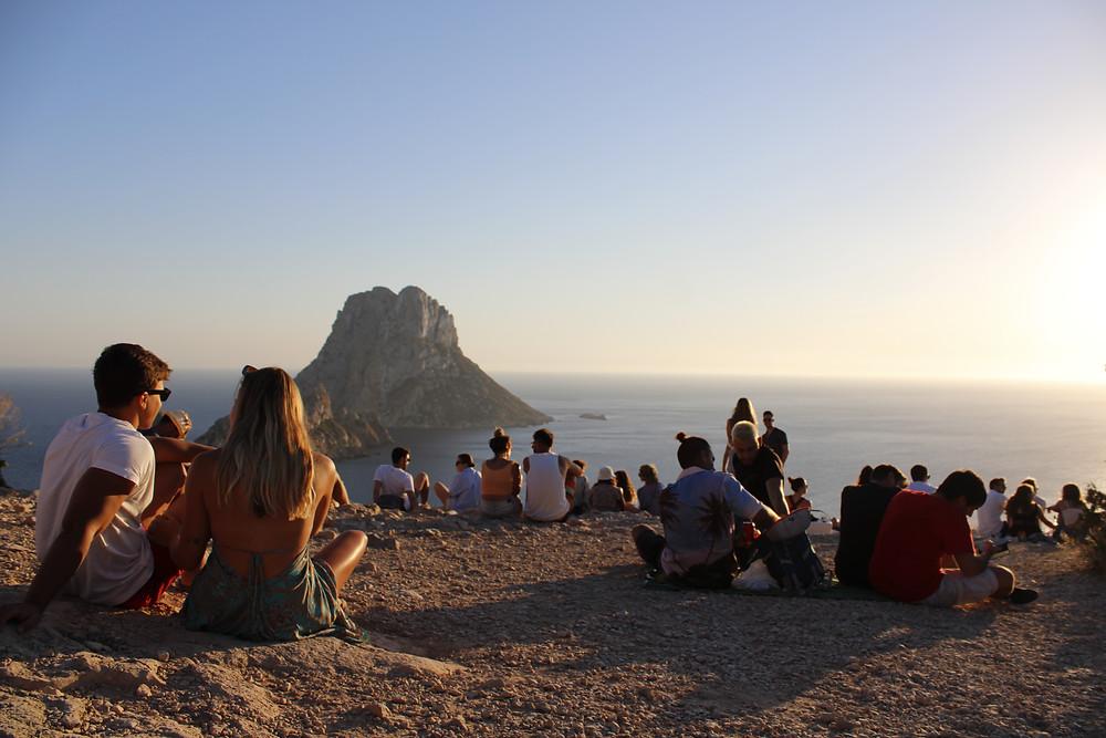 Ibiza's sunset hot spot