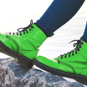 An Ode to my Therapist's Green Boots