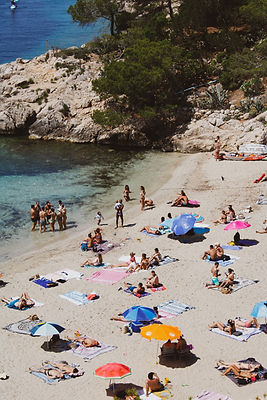 Cala Saladeta beach, Ibiza