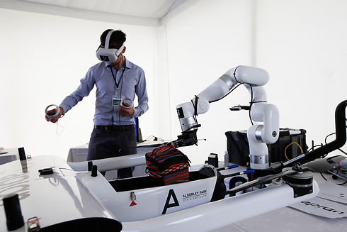 Westcott Expo 2021 VR Kit Operator