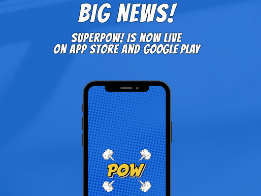 Superpow! Is Now Live on App Store and Google Play