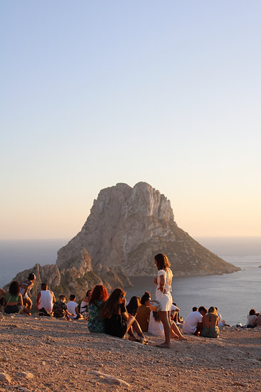 Best sunset spot in Ibiza