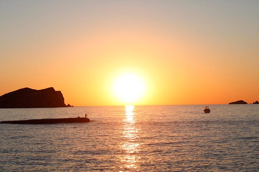 Sunset at Cala Conta