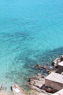 Cala Tarida hidden beach, Ibiza