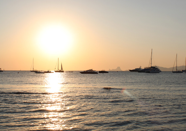 Es Vedra sunset from Formentera