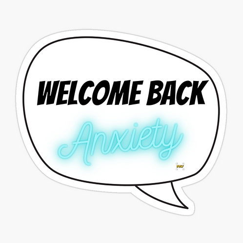 Superpow! Welcome Back Anxiety by Superpow!
