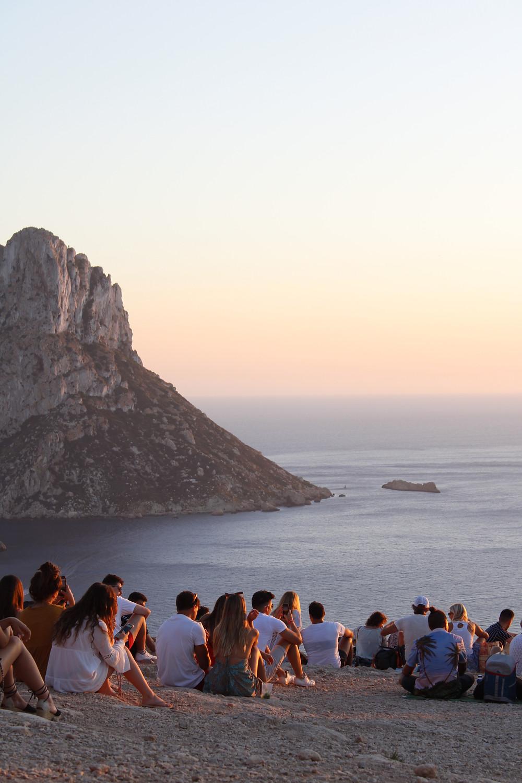Best sunset spot in Ibiza - Es Vedra