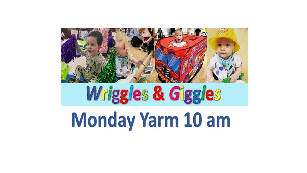 Mondays 10 am August Yarm