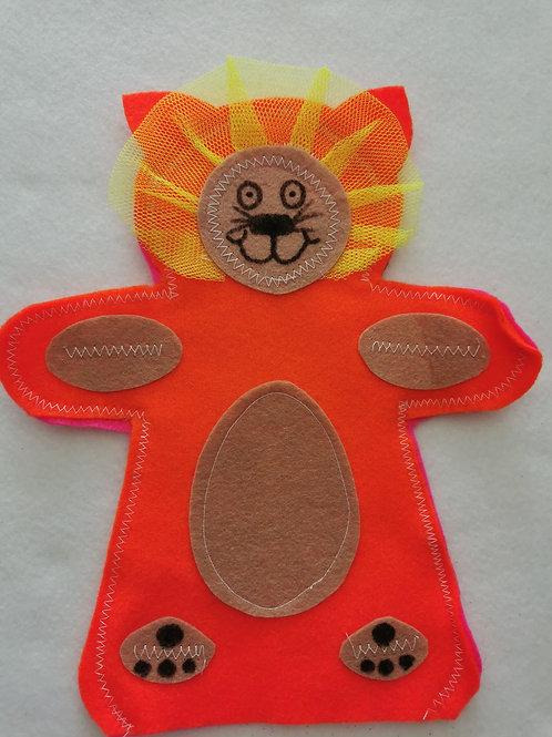 Lion Hand Puppet
