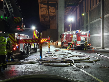 Übung mit der Feuerwehr Götzis