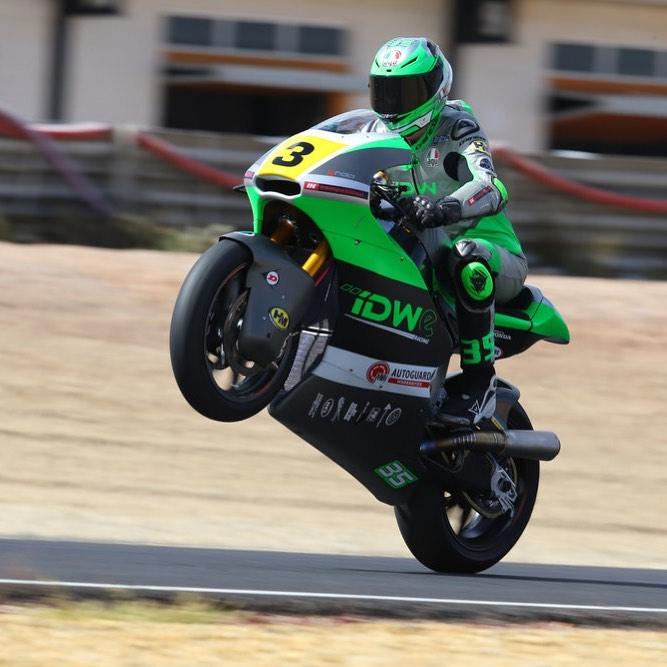 Sam Wilford European Moto 2 Test