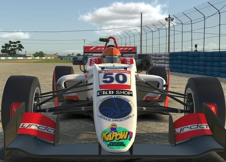 Bart Horsten eRacing Forumla Drivers Challenge