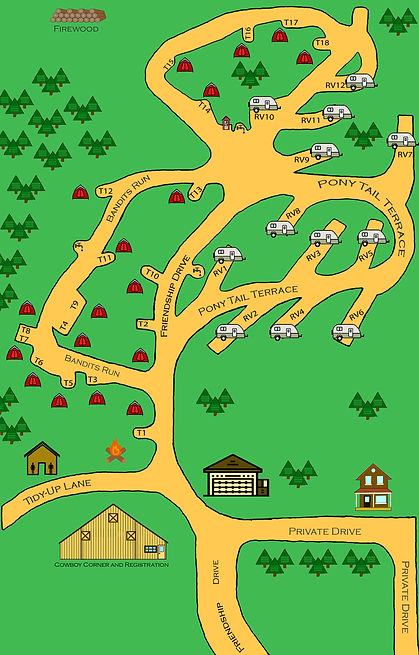 Campgroud Map