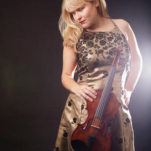Violinist Concetta Abbate