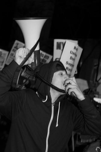 More images from #BlackLIVESMATTER Protest