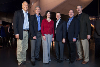 Astronauts Share Memories of Hubble and STS-125 at the Intrepid Museum