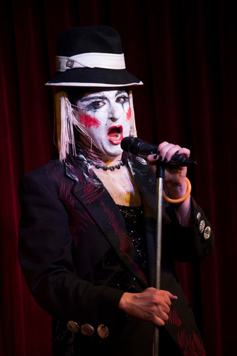 Salty Brine's Spectacular Living Record Collection Cabaret