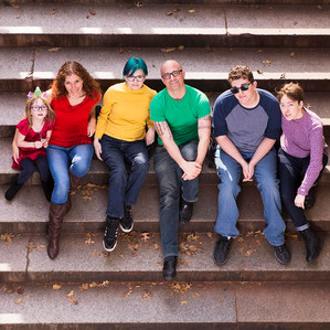 Rainbow Family Portrait
