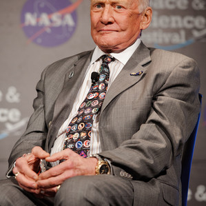 Buzz Aldrin at the Intrepid Space and Science Festival!