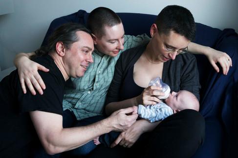 Xtina, Josh and Rose