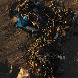 Sunset Plastic on Coney Island