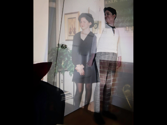 Double Exposure with Carrie's past self
