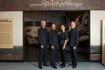 Kronos Quartet at the Intrepid Museum
